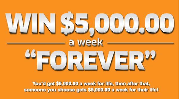 Pch com Win $5000 A Week Forever Giveaway No 11000