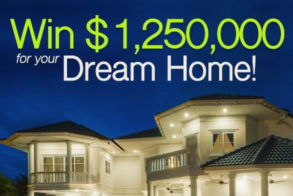 Pch Dream Car >> PCH.com Win $1,250,000 Dream Home Giveaway | SweepstakesBible