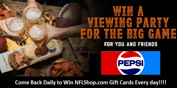 Pepsi Big Game Party Sweepstakes
