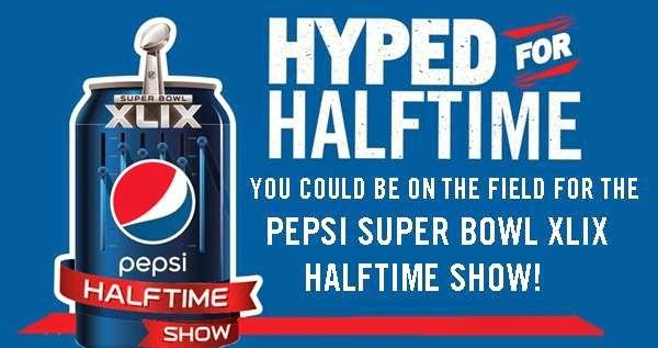 Pepsi Half Time Trip Instant Win Game Sweep