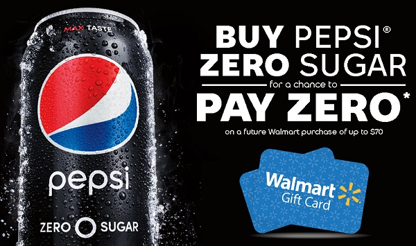 Pepsi Zero Sugar Pay Zero Instant Win Game on pepsipayzero.com