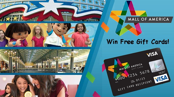 Mall Of America Gift Card Giveaway