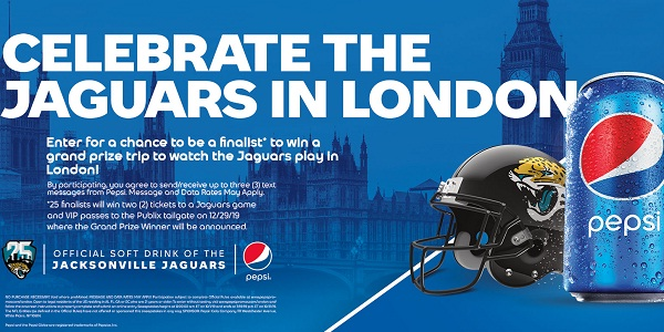 Pepsi Publix Sweepstakes 2019: Win A Trip To London