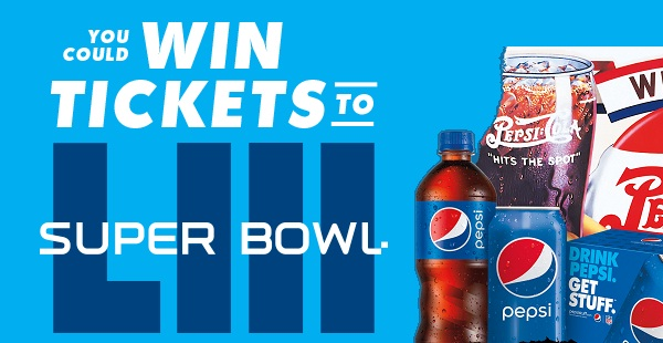 Pepsi Super Bowl 53 Sweepstakes