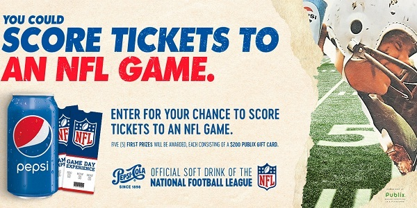 2018 Pepsi NFL Drive-Away Sweepstakes on PepsiTickets.com