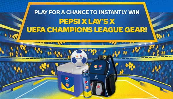 Pepsi UEFA Champions League Sweepstakes 2021