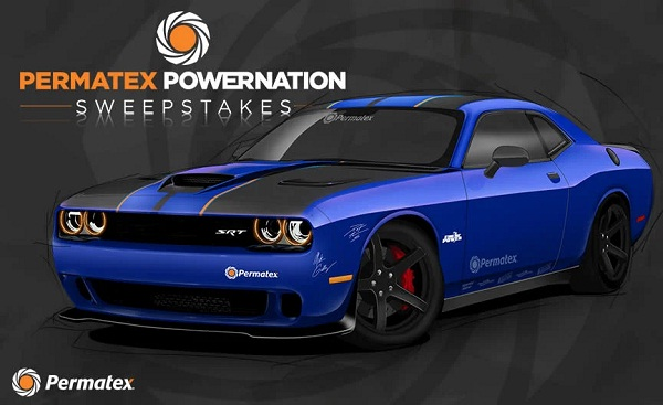 Powernation Dodge Challenger Giveaway 2019