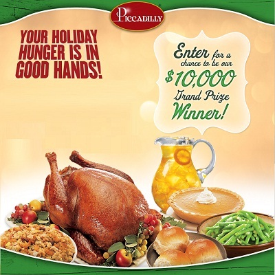 Win $10,000 worth Meal in Piccadilly Real Meal Sweepstakes