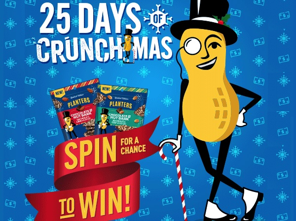 Planters 25 Days of Crunchmas Giveaway