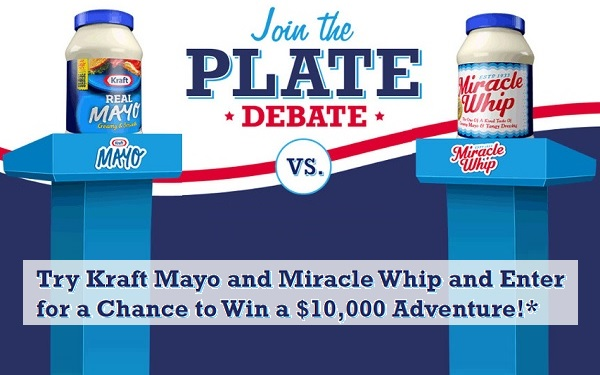 Kraft Heinz Foods Plate Debate Instant Win Game On Platedebate.com