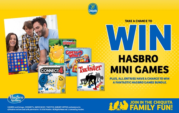 The Chiquita Family Fun Promotion
