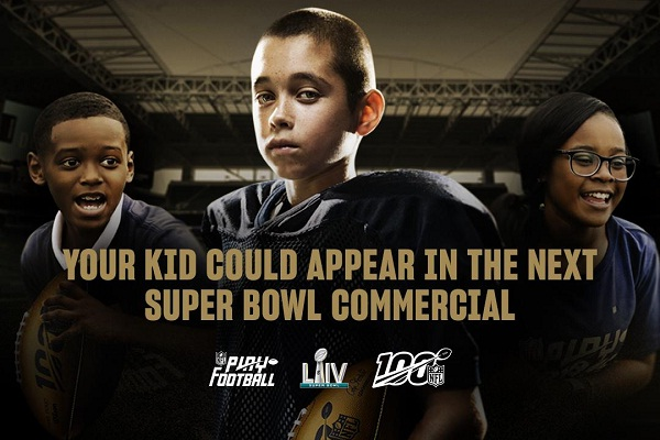 NFL Super Bowl LIV Kids Contest