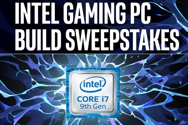 Intel Gaming PC Build Sweepstakes on Playonintel.com