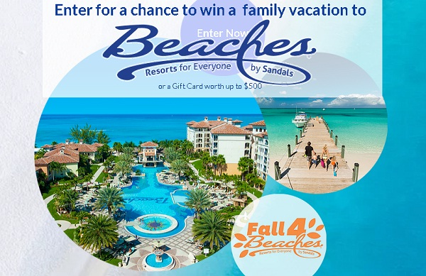 Sweepstakes 2018 vacation destinations