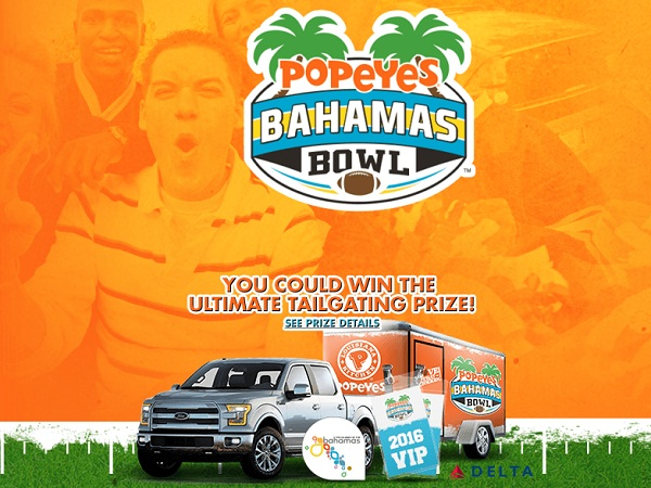 Popeyes - MVP Bundle Sweepstakes & Instant Win Game