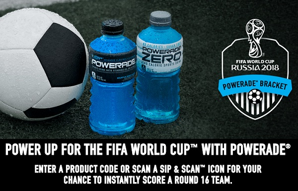 Powerade Com Fifa Instant Win Game Win 5000 Prizes Instantly