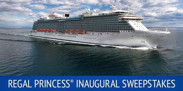 Regal Princess Inaugural Sweepstakes