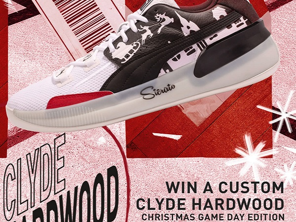 PUMA Clyde Hardwood Shoes Sweepstakes