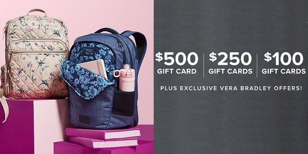 Vera Bradley Back to School Sweepstakes 2020