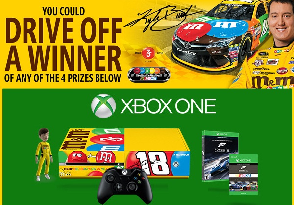 M&M'S Brand Convenience Store Sweepstakes