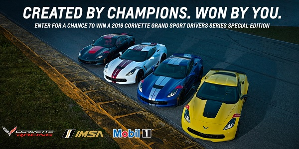 Race to Win Corvette Sweepstakes 2019