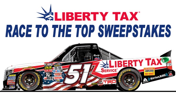 "Liberty Tax Service ""Race to The Top"" Sweepstakes"