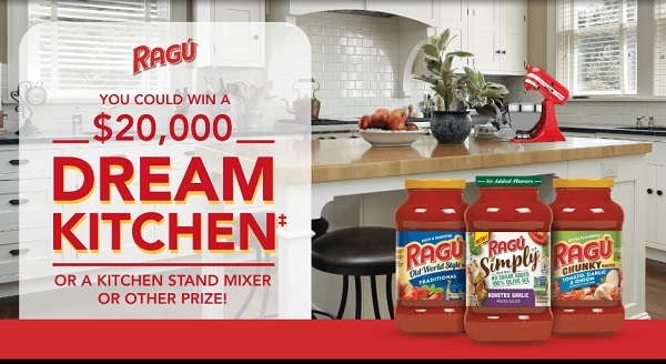 Ragu Dream Kitchen Giveaway 2019