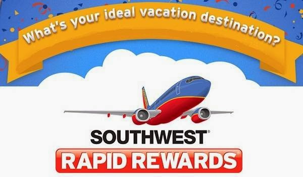 25000 Rapid Rewards Bonus Point Giveaway