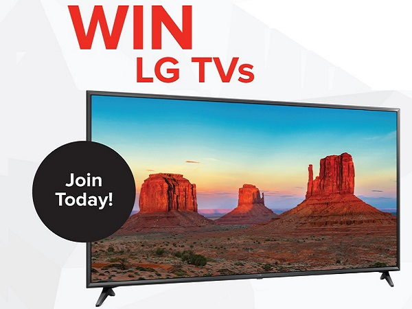 RC Willey LG TV Sweepstakes 2020