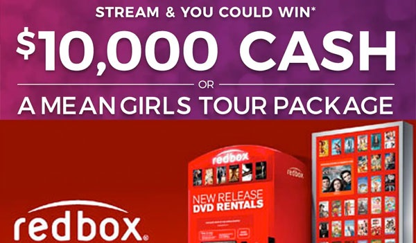 Redbox $10,000 Cash Sweepstakes