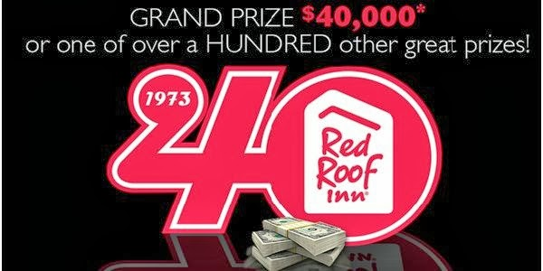 Red Roof 40 and Fabulous Sweepstakes