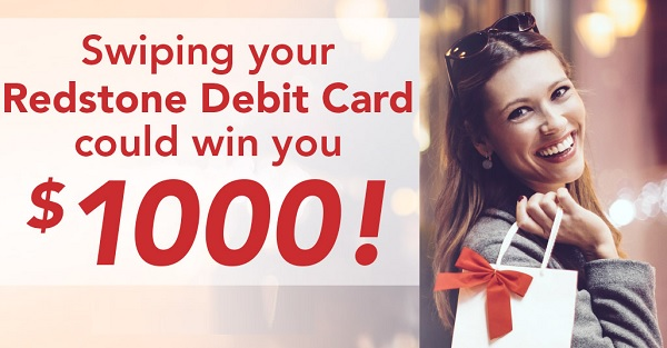 RedStone FCU Sweepstakes: Win $1000 Gift Card Daily