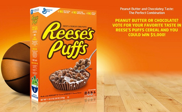 Reese's Puffs Game Day Sweepstakes and Instant Win Game