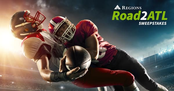 Regions Bank Road 2 Atlanta Sweepstakes: Win 2019 SEC Championship Tickets