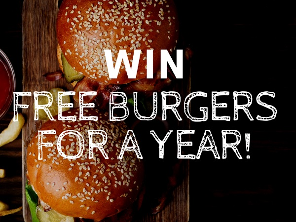 Win Free Burgers for a Year!