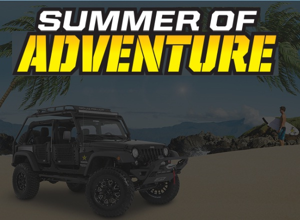 Rockstar – Summer of Adventure Sweepstakes