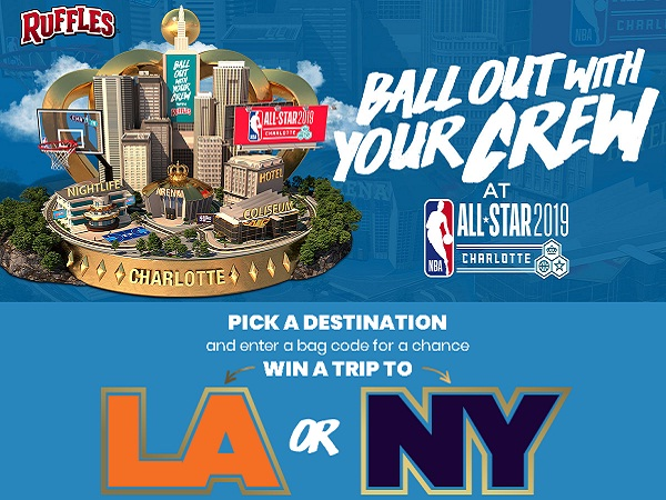 Ruffles Live Like A Baller Sweepstakes and Instant Win Game