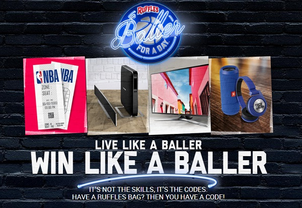 Ruffles Baller For A Day Instant Win Game: Win VIP Trip to LA