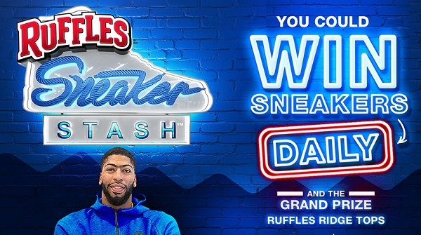 Ruffles Sneaker Stash Instant Win Game: Win a Pair of Sneakers Daily!