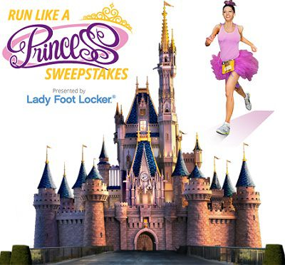 Disney Run Like A Princess Sweepstakes