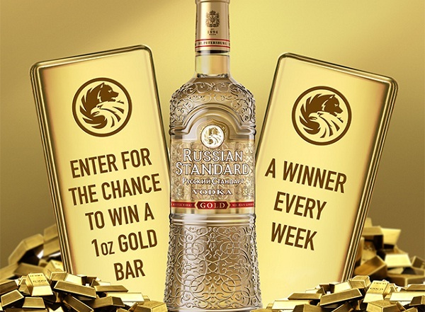 Russian Standard Vodka Bring Home the Gold Sweepstakes