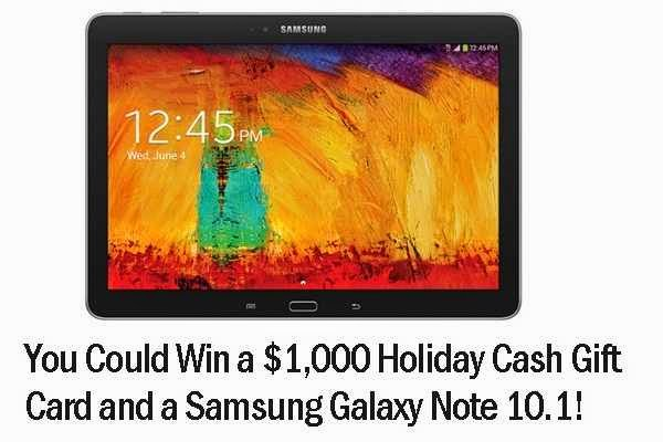Ryan Seacrest's Holiday Tablet Sweepstakes