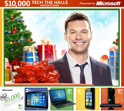 Win $10000 Worth Tech Gadgets from Microsoft and Trip!