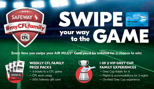 Safeway My CFL Family Contest 2019