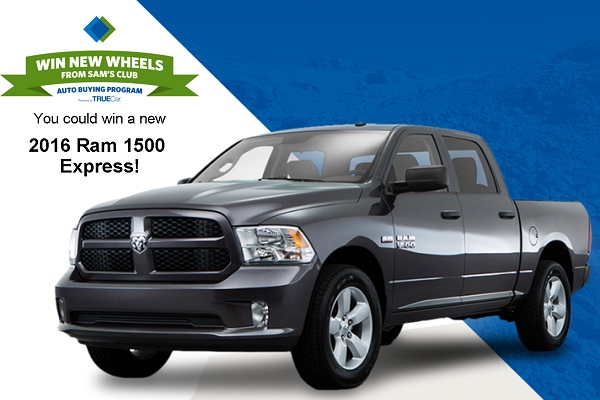 Sam'S Club Auto >> Sam S Club March Car Giveaway Sweepstakesbible