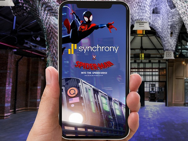 Synchrony Bank Spider-Verse Sweepstakes 2018