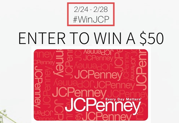 Saving Win JCPenney Sweepstakes