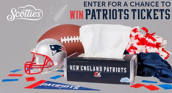 Scotties Sweepstakes: Win Patriots Tickets
