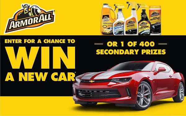 Online sweepstakes win a car