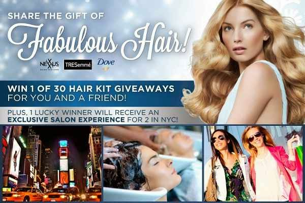 Share the Gift of fabulous Hair Wish List Hair Contest